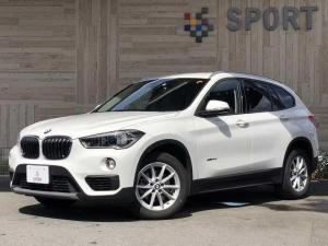 BMW X1 xDrive18d ワンオーナー 純正HDDナビ コンフォートアクセス ビルトインETC HIDヘッドライト バックカメラ インテリジェントセーフティ 4WD