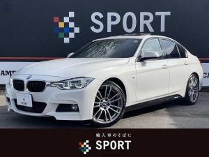 BMW 3シリーズ 320d Mスポーツ サンルーフ 黒革シート アクティブクルーズコントロール シートヒーター OP19AW クリアランスソナー パワーシート シートメモリー メーカー純正ナビ バックモニター