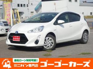 トヨタ アクア S SDナビ CD DVD Bluetooth フルセグTV バックカメラ EVモード 横滑り防止機能 タイミングチェーン