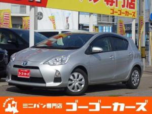 トヨタ アクア S メモリナビ ワンセグTV CD再生 アイドリングストップ キーレス ETC タイミングチェーン