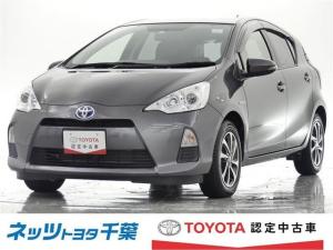 トヨタ アクア S HDDナビ/フルセグ/バックカメラ/ETC/ワンオーナー