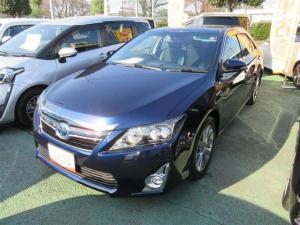トヨタ カムリ ハイブリッド Gパッケージ・プレミアムブラック ETC ワンオーナー 記録簿 アイドリングストップ