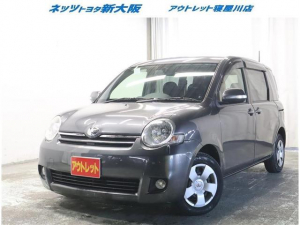 トヨタ シエンタ X Lパッケージ ETC 電動スライドドア HIDヘッドライト 乗車定員7人 3列シート