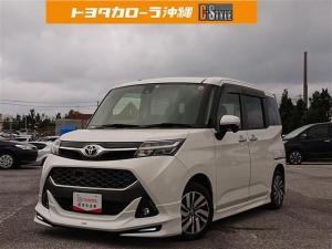 トヨタ タンク カスタムG S ワンセグ メモリーナビ ETC フルエアロ