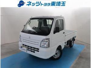 スズキ キャリイトラック KCエアコン・パワステ 純正AM/FMラジオ 5速マニュアル車 4WD
