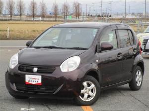 トヨタ パッソ X ユルリ ETC スマートキー ミュージックプレイヤー接続可 ワンオーナー キーレス 盗難防止装置 乗車定員5人 ベンチシート ABS エアバッグ オートマ