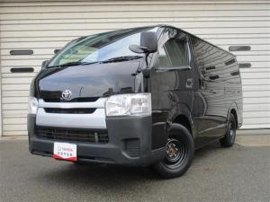 トヨタ ハイエースバン ロングDX 4WD バックカメラ ETC 乗車定員6人 ディーゼル