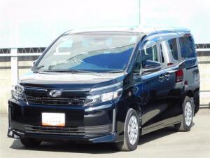 トヨタ ヴォクシー X 両側スライド片側電動スライドドア LEDヘッドランプ スタンダードSDナビ バックガイドモニター ビルトインETC 記録簿 スマートエントリー&スタートシステム