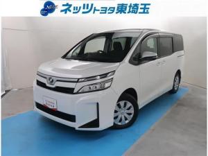 トヨタ ヴォクシー X 純正SDナビ サポカー バックモニター ETC LEDヘッドライト