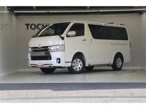 トヨタ ハイエースバン スーパーGL ダークプライム スマートキー 盗難防止システム 記録簿