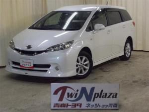 トヨタ ウィッシュ 1.8S 4WD ワンセグ HDDナビ DVD再生 ETC HIDヘッドライト 乗車定員7人 3列シート アルミホイール キーレス CD ABS エアバッグ