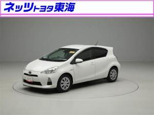 トヨタ アクア S フルセグ メモリーナビ DVD再生 ETC ワンオーナー 記録簿