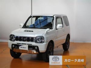 スズキ ジムニー クロスアドベンチャー 4WD 4速オートマ 2エアバッグ ABS キーレス フォグランプ 純正アルミホイール シートヒーター CD 合成皮革シート