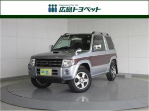 三菱 パジェロミニ エクシード 4WD ETC ワンオーナー