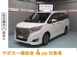 トヨタ エスクァイア Xi 9インチTコネクトナビ DVD再生 バックカメラ 衝突被害軽減システム ETC 電動スライドドア LEDヘッドランプ 乗車定員7人 3列シート アイドリングストップ