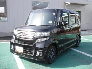 ホンダ N-BOXカスタム G・Lパッケージ 4WD ワンオーナー 電動スライドドア ナビTV ロングラン保証