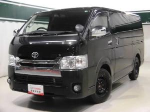 トヨタ ハイエースバン ロングスーパーGL ETC ディーゼル
