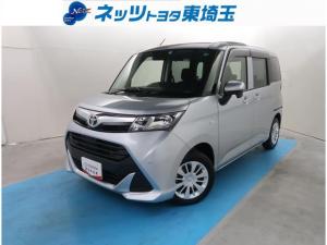 トヨタ タンク X S 純正SDナビ サポカー ETC バックカメラ ドライブレコーダー