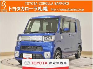 トヨタ ピクシスメガ Gターボ SAII 4WD 衝突被害軽減システム 両側電動スライド LEDヘッドランプ ワンオーナー アイドリングストップ