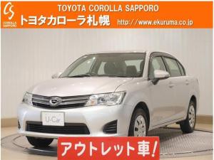 トヨタ カローラアクシオ 1.5X 4WD ワンセグ メモリーナビ ミュージックプレイヤー接続可 ETC
