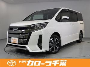 トヨタ ノア Si メモリナビ CD TV(ワンセグ) ドライブレコーダー LEDヘッドランプ ワンオーナー 12か月走行距離無制限保証付き