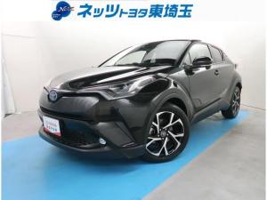 トヨタ C-HR G バックカメラ 衝突軽減装置 LEDヘッドライト ハーフレザーシート Bluetooth シートヒーター