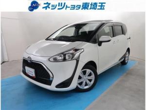 トヨタ シエンタ ファンベースG 純正SDナビ サポカー バックモニター ETC スマートキー