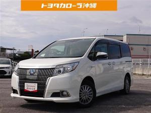 トヨタ エスクァイア GI 革シート ミュージックプレイヤー接続可 バックカメラ ETC LEDヘッドランプ 乗車定員7人 3列シート 記録簿