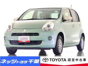 トヨタ パッソ プラスハナ Cパッケージ HIDヘッドライト/ETC/キーレス/社外アルミホイール
