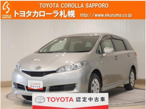 トヨタ ウィッシュ 1.8X HIDセレクション 4WD ETC HIDヘッドライト 乗車定員7人 3列シート