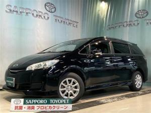トヨタ ウィッシュ 1.8X 4WD フルセグ メモリーナビ DVD再生 ETC ドラレコ 乗車定員7人 3列シート