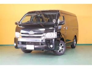 トヨタ ハイエースワゴン GL ロング 4WD フルセグ DVD再生 バックカメラ ETC 電動スライドドア LEDヘッドランプ 乗車定員10人 3列シート ワンオーナー