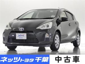 トヨタ アクア S HDDナビ/フルセグ/ETC/スマートキー/ワンオーナー