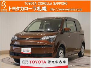 トヨタ スペイド X スマートキー キーレス 寒冷地仕様 4WD 自動スライドドア ABS 横滑り防止 CD