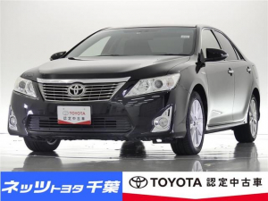 トヨタ カムリ ハイブリッド Gパッケージ HIDヘッドライト/スマートキー/電動シート/ETC/スマートキー