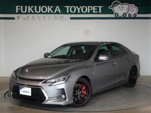 トヨタ マークX G's メモリーナビ・フルセグ・アルカンターラシート