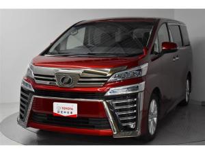 トヨタ ヴェルファイア 2.5Z 試乗車 両側自動ドア 1オーナ LEDライト ナビTV CD フルセグTV イモビライザー 3列シート DVD メモリーナビ スマートキ- クルコン キーレス アルミホイール 横滑り防止装置 ABS