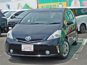 トヨタ プリウスα S チューン ブラック