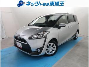トヨタ シエンタ G 純正SDナビ サポカー バックカメラ ETC スマートキー Bluetooth接続 フルセグTV シートヒーター