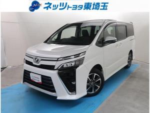 トヨタ ヴォクシー ZS SDナビゲーション ミュージックサーバー Bluetooth接続 バックモニター LEDヘッドライト 衝突被害軽減ブレーキ