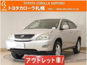 トヨタ ハリアー 240G Lパッケージ 4WD