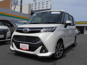 トヨタ タンク カスタムG-T 衝突被害軽減システム 両側電動スライド LEDヘッドランプ ワンオーナー アイドリングストップ