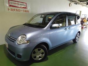 トヨタ シエンタ X ETC 電動スライドドア HIDヘッドライト 乗車定員7人 3列シート ワンオーナー