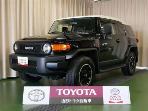 トヨタ FJクルーザー カラーパッケージ 4WD フルセグ メモリーナビ DVD再生 バックカメラ ETC