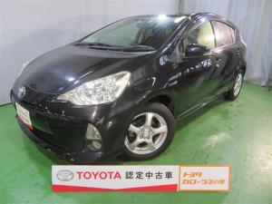 トヨタ アクア S ワンセグ メモリーナビ バックカメラ ETC