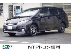トヨタ ウィッシュ 1.8S 4WD 乗車定員7人 ナビ ドライブレコーダー プッシュスタート ETC 社外アルミホイール