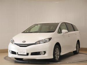 トヨタ ウィッシュ 1.8G 4WD フルセグ メモリーナビ DVD再生 ETC HIDヘッドライト 乗車定員7人 3列シート