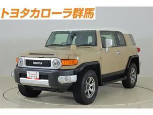トヨタ FJクルーザー ベースグレード 4WD フルセグ メモリーナビ DVD再生 ミュージックプレイヤー接続可 バックカメラ ETC