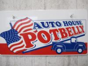AUTO HOUSE POTBELLY